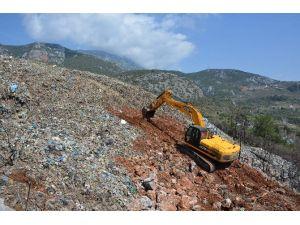 Antalya'da Kapatılan Çöplükler Ağaçlandırılıyor
