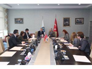 ABD İstanbul Başkonsolosu Charles Hunter'den Satso'ya Ziyaret