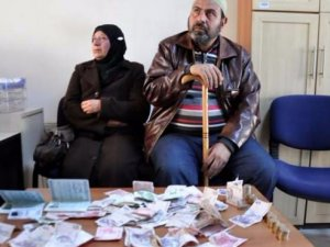 Suriyeli dilenciler 1 saatte 810 lira topladı