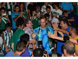 Bursaspor'un Yıldızına Terör Engeli