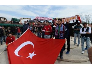 Öğrenci Taraftar Gruplarından Terör Protestosu