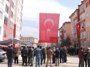 Komiser Yardımcısı Kubilay Er'i, 5 Bin Amasyalı Uğurladı