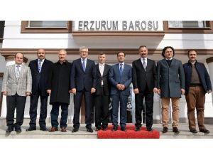 Yargıdan Erzurum Barosuna Ziyaret