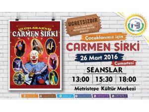 Ünlü Carmen Sirki Çocuklar İçin Bozüyük'e Geliyor