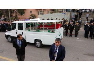 Şehit polis, Kocatepe Camii'nden son yolculuğuna uğurlandı