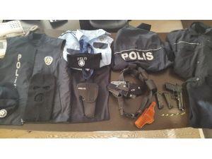 Polis Kıyafetiyle Dolandırıcılık Yapan 1 Kişi Yakalandı