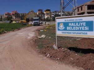 Haliliye Belediyesi Yol Atağını Sürdürüyor