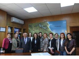 Edirne Kadın Girişimciler Kurulu DSİ 11. Bölge Müdürlüğü'nü Ziyaret Etti