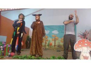 Çocuklara Orman Sevgisini Tiyatroyla Anlattılar