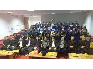Eğitim-bir-sen Heyeti Aday Öğretmenlerle Bir Araya Geldi