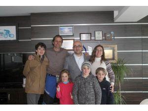 Arjantinli maceracı aile Erciyes'te
