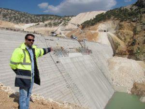 Ardıl Barajındaki Çalışmalar Yeniden Başladı