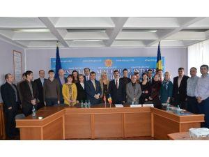 """Moldova'da Uluslararası Polis Eğitimi İşbirliği Projesi Kapsamında """"Proje Döngüsü Yönetimi Kursu"""""""