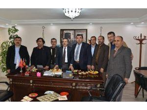 Başkan Ataç Esnaf Odaları Ziyaretlerini Sürdürüyor