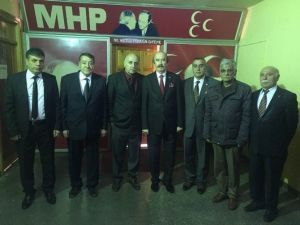 Başkan Demirgil'den, MHP İl Başkanı Eyinç'e Ziyaret