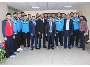 Adana Toros Byz Spor'dan Başkan Çelikcan'a Teşekkür Ziyareti