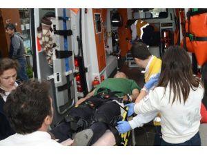 Çanakkale'de Silahla Yaralama: 1 Yaralı