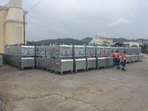 Bodrum Belediyesi Çöp Konteynerlerini Yeniliyor