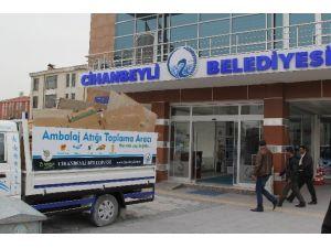 Cihanbeyli'de Atıklar Toplanıyor
