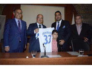 Başkan Kocamaz, Meskispor Futbolcularıyla Buluştu