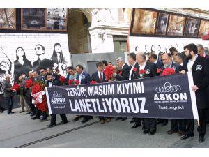 ASKON'dan teröre lanet yürüyüşü