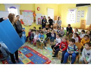 Bodrum'da Geri Dönüşümün Önemi Miniklere Anlatıldı