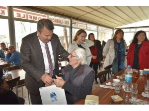 Başkan Çerçi, Yaşlıları Yemekte Ağırladı