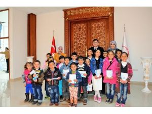 Başarılı Öğrenciler Çat Belediyesi'ne Konuk Oldu