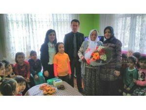 Çaycuma'da Okul Müdüründen Anlamlı Ziyaret
