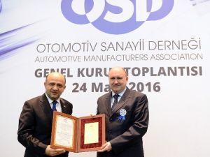 Otomotiv Sanayi Derneği (Osd) Yan Sanayi Ve İhracat Başarı Ödülleri Töreninde Türktraktör'e 2 Ödül Birden