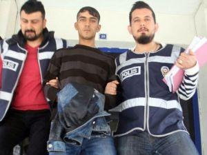 Siverek'te Hırsızlık Şüphelisi Tutuklandı