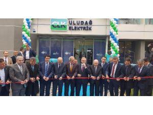 Clk Uludağ Elektrik Yeni Hizmet Binasının Kapılarını Açtı