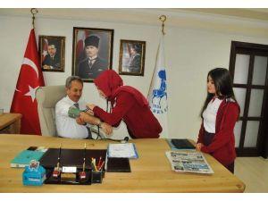 Öğrencilerden Akşehir Belediyesi'ne Ziyaret