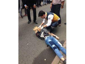 Genç Kadın, Sokak Ortasında Kurşunlandı