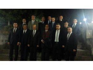Vali Yardımcısı Demirtaş'a Veda Yemeği Düzenlendi