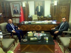 Belediye Başkanı Hasan Kara, Gümrük Ve Ticaret Bakanı Tüfenkçi İle Görüştü