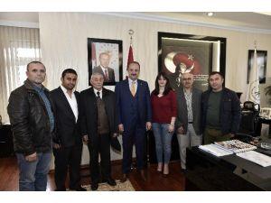 Derneklerden Başkan Akgül'e Ziyaret