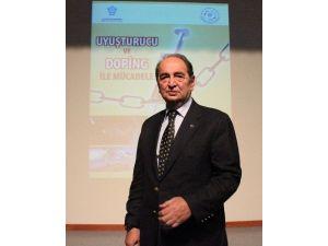 """Konya'da """"Uyuşturucu Ve Doping İle Mücadele"""" Konulu Konferans"""