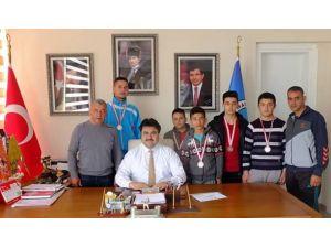 Avrupa Tekvando Şampiyonu, Başkan Ersoy'u ziyaret etti