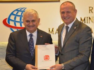 Başkanlar Birliği, Bakan Binali Yıldırım'ı Ziyaret Etti