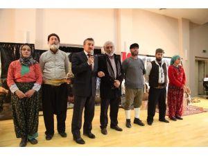 """Seydişehir'de """"Koca Seyit"""" Tiyatroyla Canlandırıldı"""