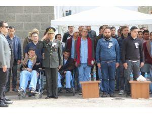 Lice Şehitlerini, Yaralı Silah Arkadaşları Uğurladı