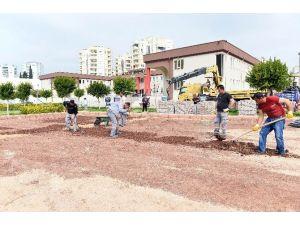 Otistik Çocuklar Okuluna Trafik Parkı