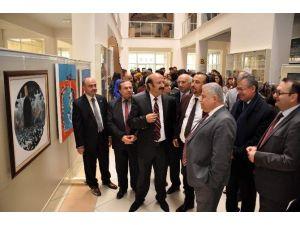 """NEÜ'de """"Nevruz'a Dair"""" Resim Sergisi Açıldı"""
