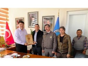 Ormancılar Başkan Ersoy'u Ziyaret Ettiler
