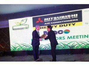 İklimsa, Mitsubishi Heavy'nin Ticari Klima Ciro Ödülünü Kazandı