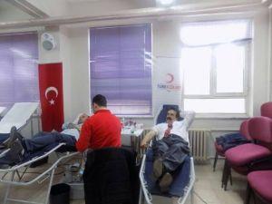 Malhun Hatun İlk/ortaokulunda Kan Bağışı Kampanyası