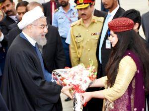 İran cumhurbaşkanı Ruhani Pakistan'a geldi