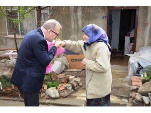 Süleymanpaşa Kent Konseyi Yaşlıları Ziyarete Devam Ediyor