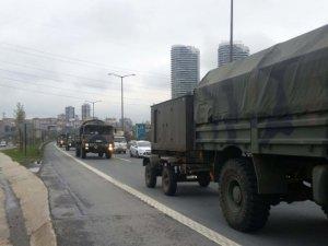 Hakkari Değil İstanbul! TEM'de Askeri Konvoy